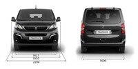 Peugeot Traveller Business dimensiones ancho