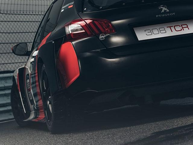 Peugeot 308 TCR - Peugeot Sport