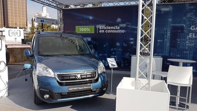Gama de vehículos eléctricos Peugeot en Madrid