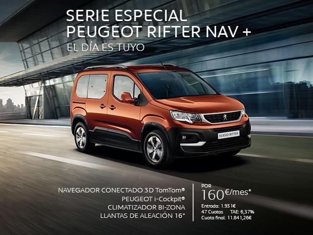 Oferta Serie Especial Peugeot Rifter NAV +