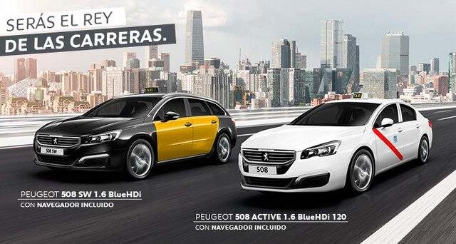 Oferta Empresas Peugeot 508 Taxi