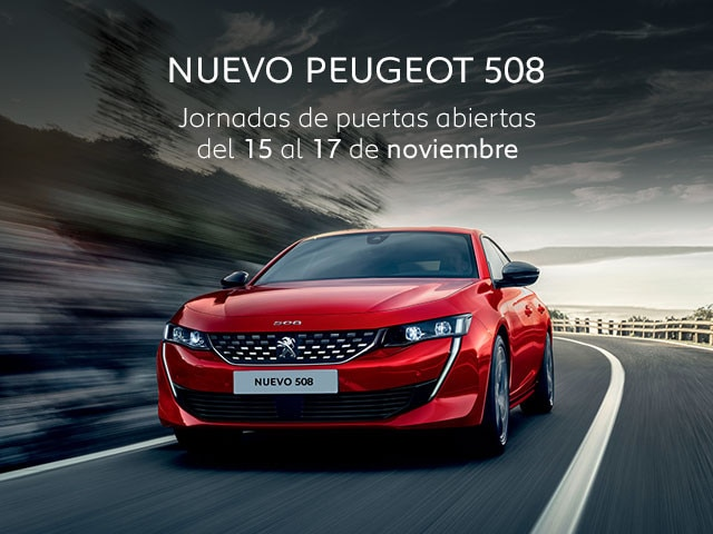 Mainbanner Nuevo Peugeot 508 Puertas Abiertas