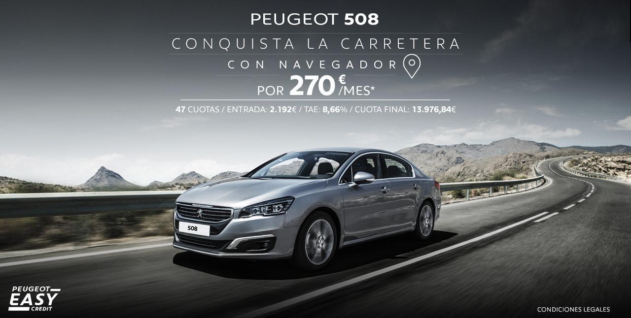 Mainbanner Peugeot 508 Home