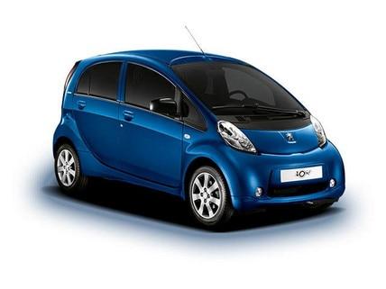 Gama de vehículos eléctricos Peugeot iOn