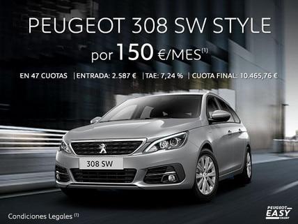Oferta Peugeot 308 SW Style