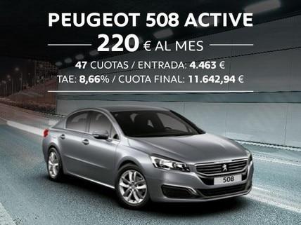 Oferta Peugeot 508 Active Octubre