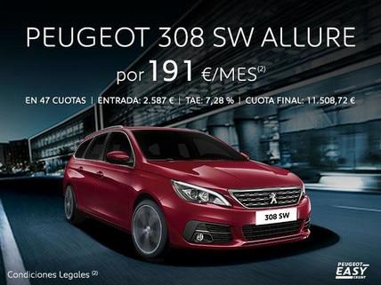 Oferta Peugeot 308 SW Allure