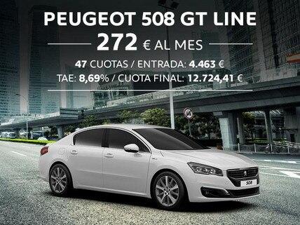 Oferta Peugeot 508 GT Line Octubre