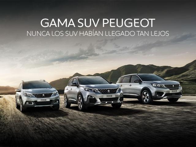 Gama SUV Peugeot Promo