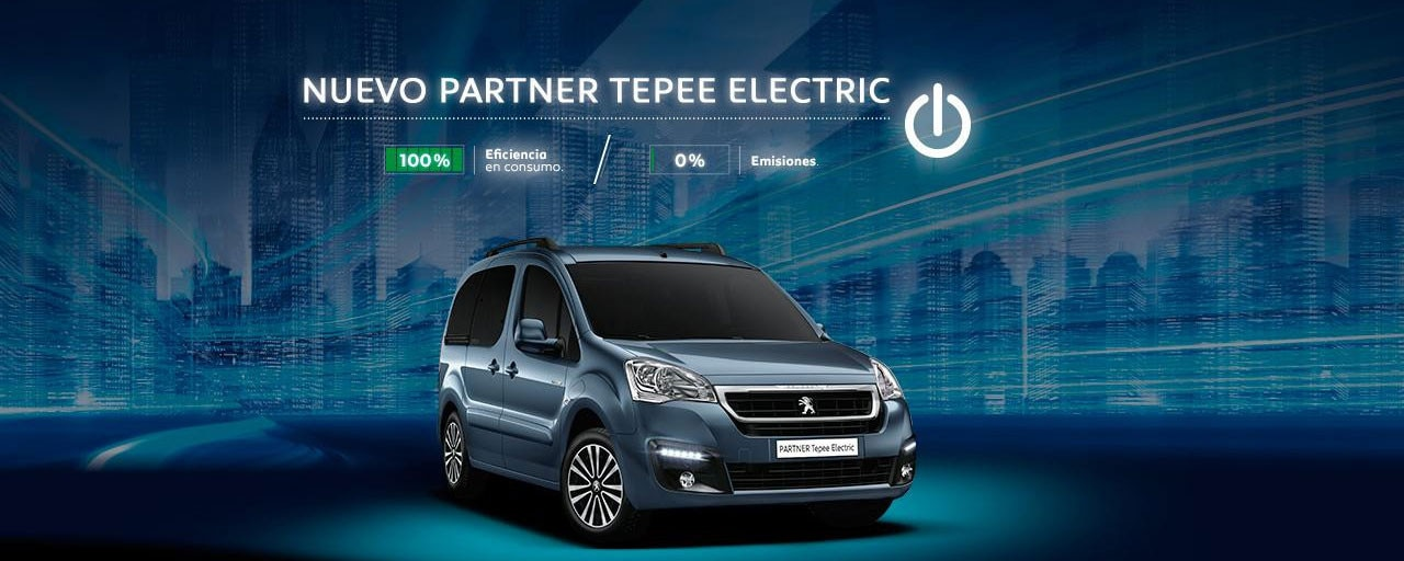 Mainbanner Nuevo Partner Tepee Electric