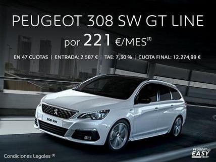Oferta Peugeot 308 SW GT Line