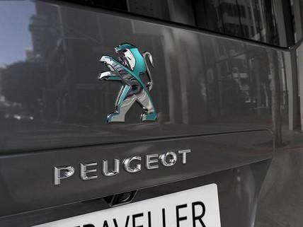 Nuevo PEUGEOT e-Traveller  - León dicroico trasero