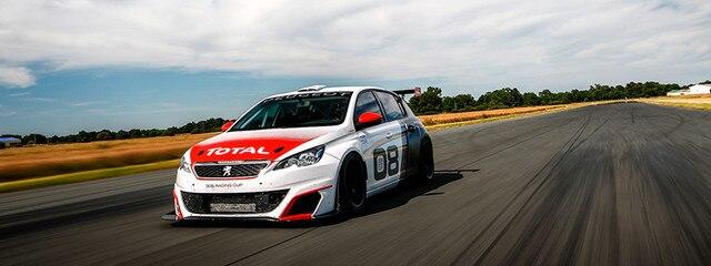 El Peugeot 308 Racing Cup se pone a prueba