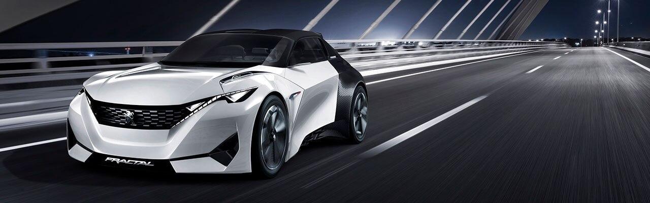 Concept cars Peugeot Instinct Fractal