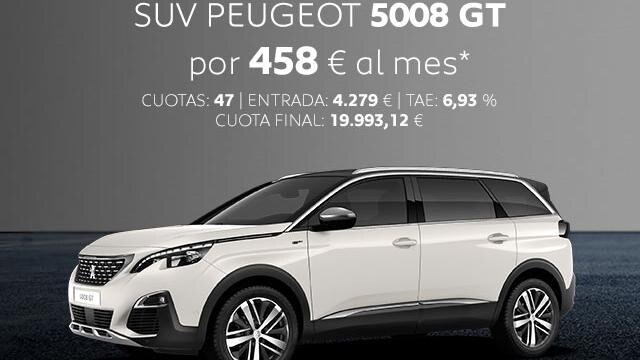 Oferta SUV Peugeot 5008 GT Noviembre
