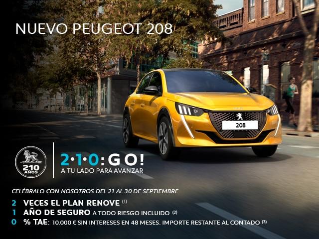 Nuevo 208 5P Active Eléctrico 100 100kw