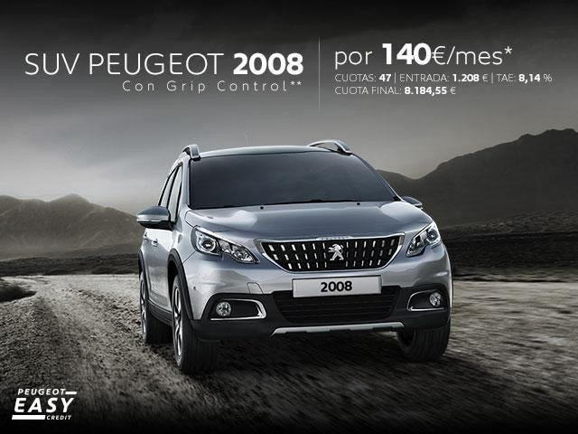 Oferta SUV Peugeot 2008 febrero