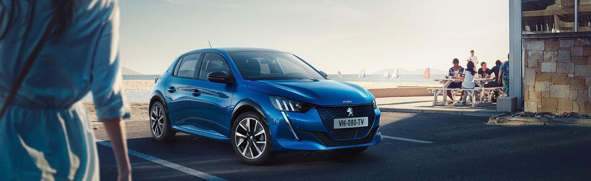 Qué es un coche eléctrico - Peugeot e208