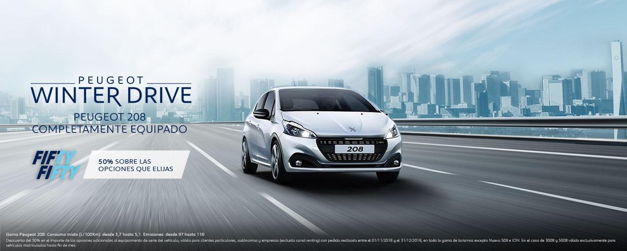 Mainbanner Peugeot 208 5 Puertas Winter Drive