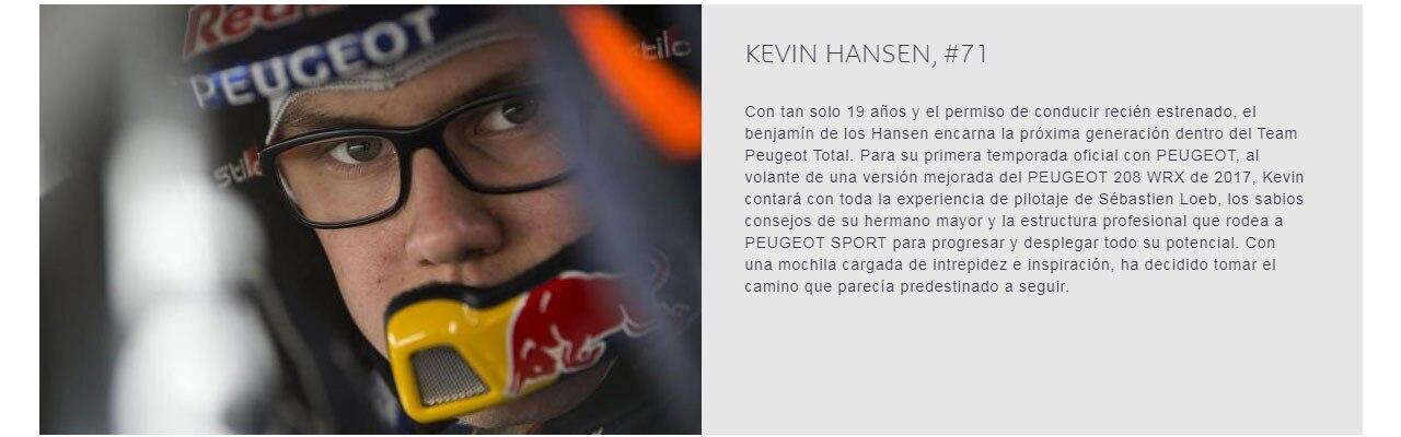Los Pilotos Kevin Hansen