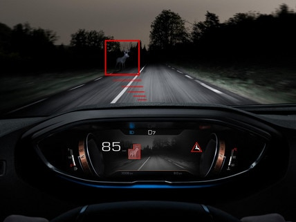 Nuevo SUV PEUGEOT 5008, Tecnología de visión nocturna