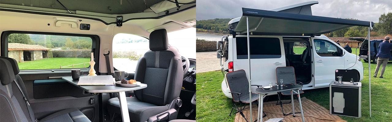 Peugeot y Tinkervan gama camper