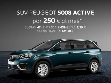 Oferta SUV Peugeot 5008 Active Marzo