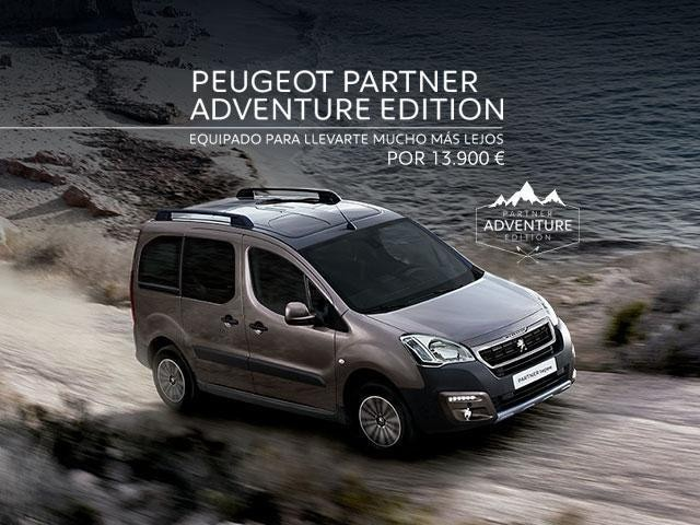 Oferta Peugeot Partner Adventure Edition
