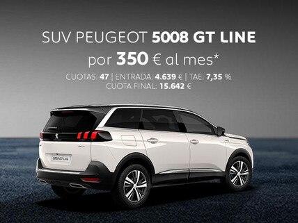 Oferta SUV Peugeot 5008 GT Line Marzo
