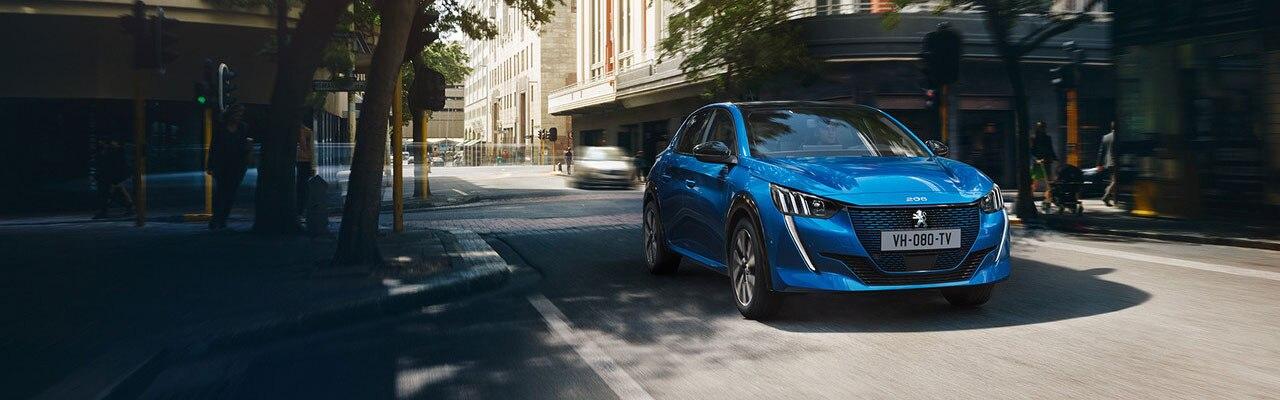 Nuevo Peugeot e-208 - Coche eléctrico urbano y deportivo