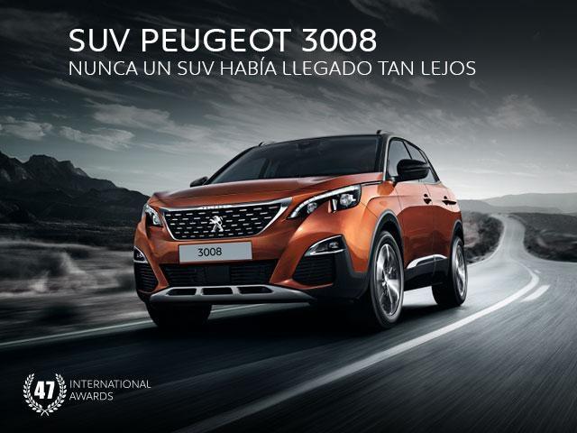 Promo SUV Peugeot 3008 Mayo