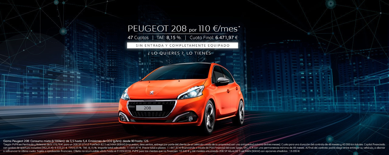 Peugeot 208 5 puertas