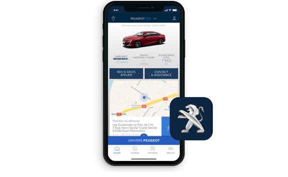 Aplicación My Peugeot