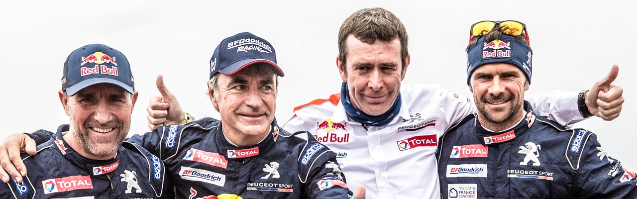 Equipo-Peugeot-en-el-Dakar-el-Dream-Team