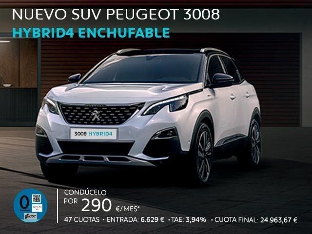 Suv Peugeot 3008 HYBRID