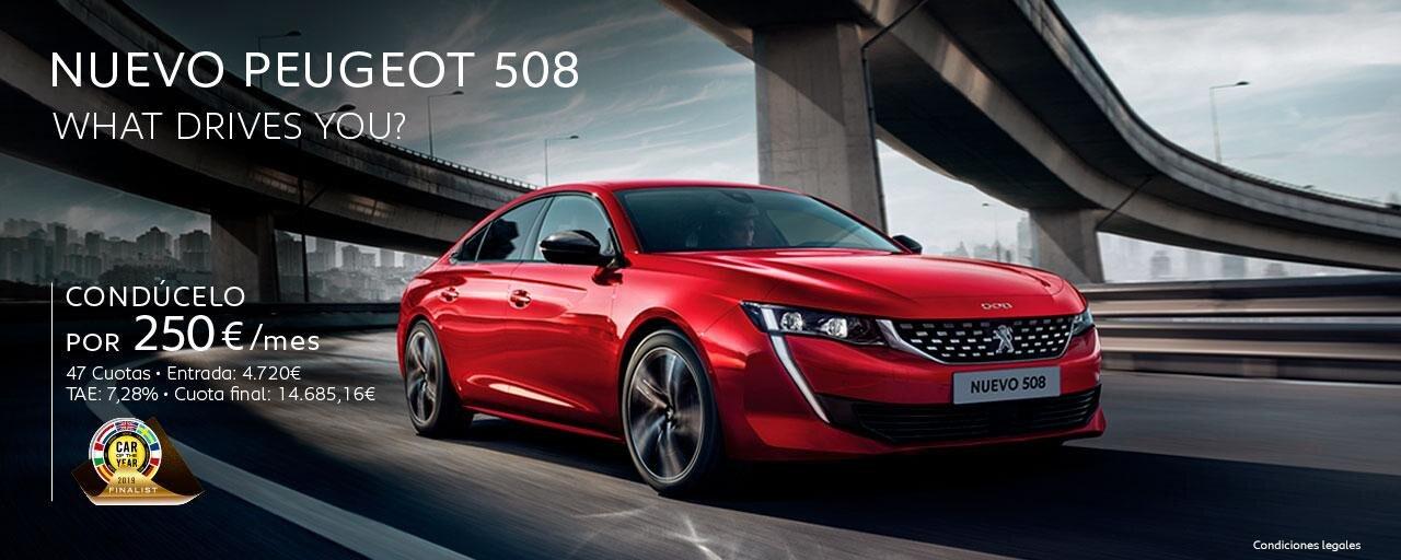 Nuevo Peugeot 508 Cuotas