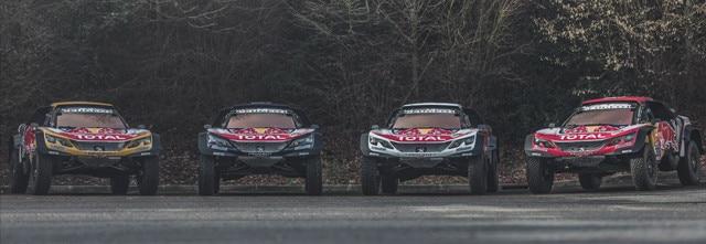 Equipo-Peugeot-en-el-Dakar-el-Dream-Team