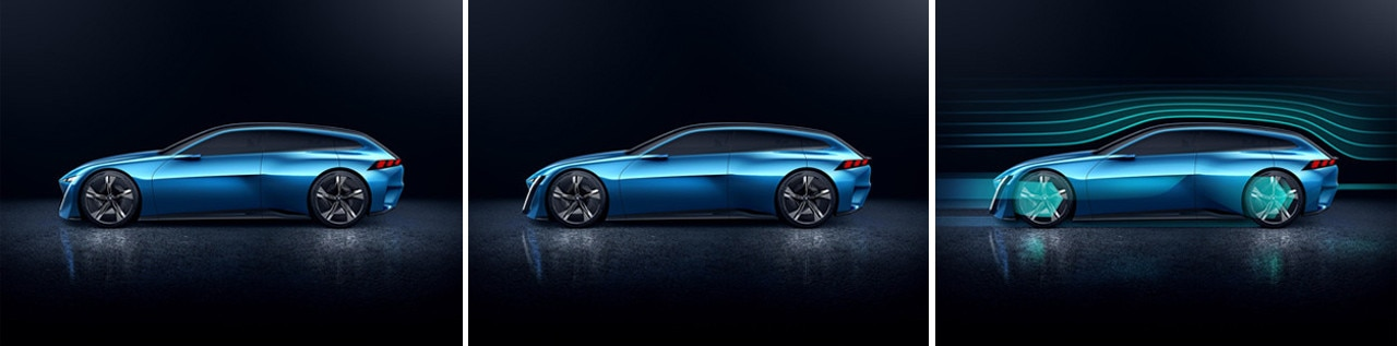 Peugeot Instinct Concept Montaje