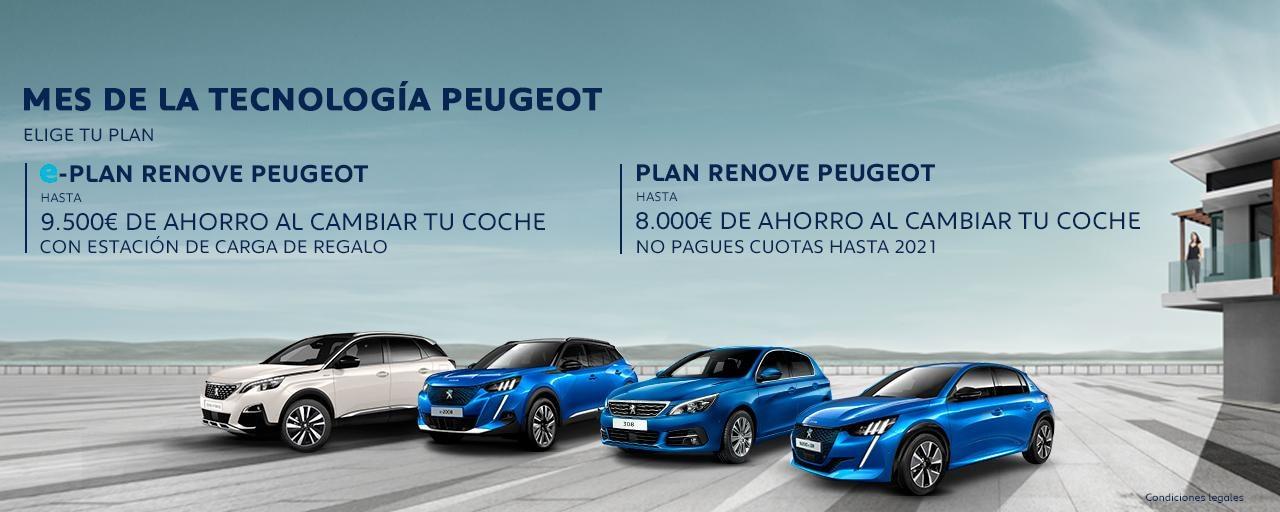 Nueva Gama Renove Peugeot