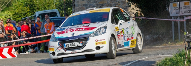 Jan Solans primer triunfo en la Peugeot Rally Cup Ibérica