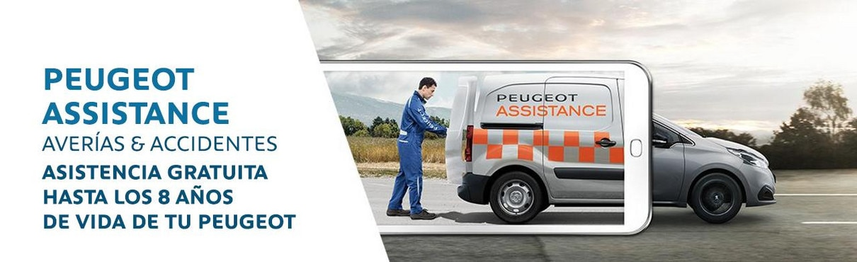 Peugeot Assistance: averías y accidentes, asistencia gratuita