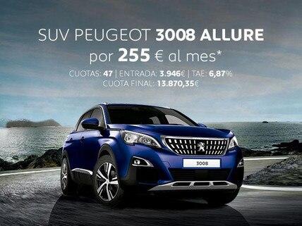 Oferta SUV Peugeot 3008 Allure Noviembre