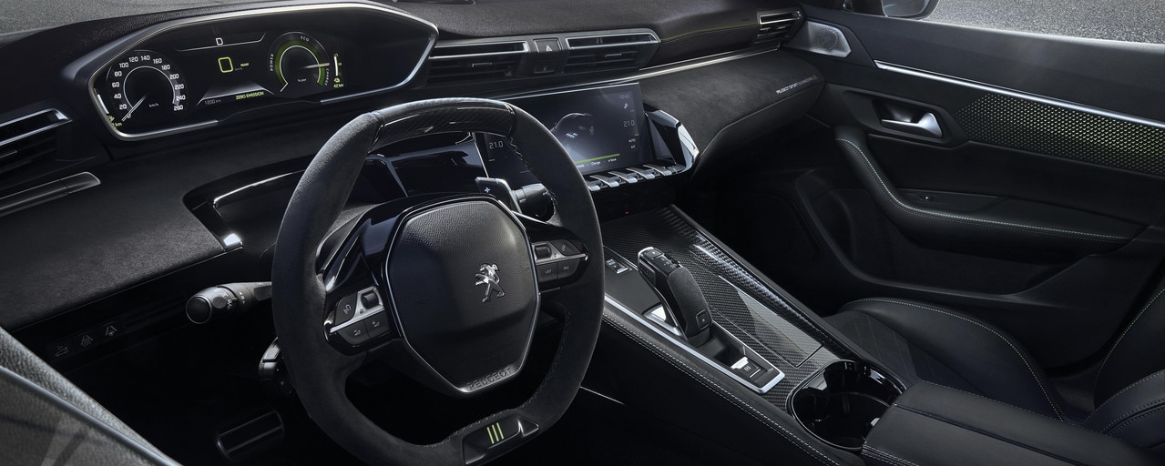 i-cockpit Concept 508 PEUGEOT SPORT ENGINEERED