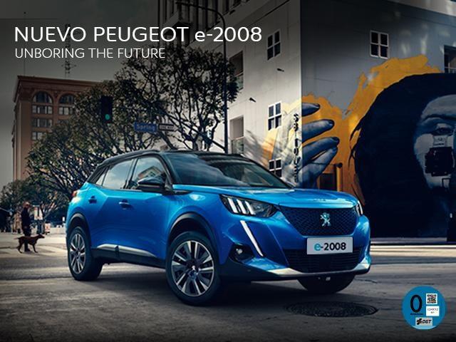 Nuevo Suv Peugeot e-2008