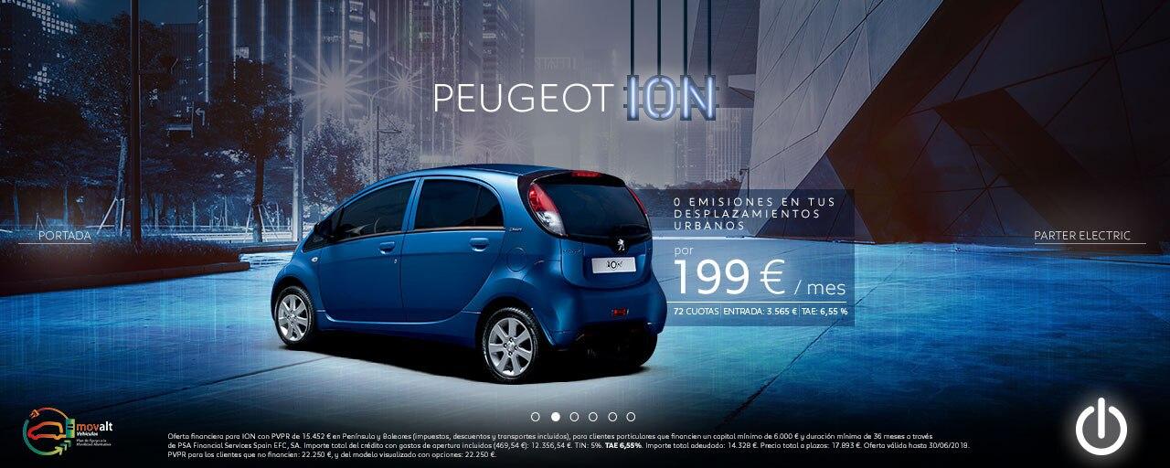 Servicios eléctricos Peugeot iOn