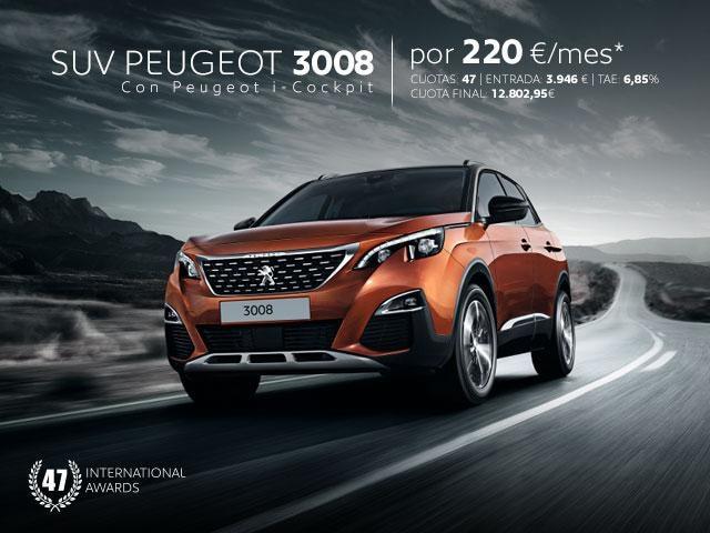 Oferta SUV Peugeot 3008 Noviembre