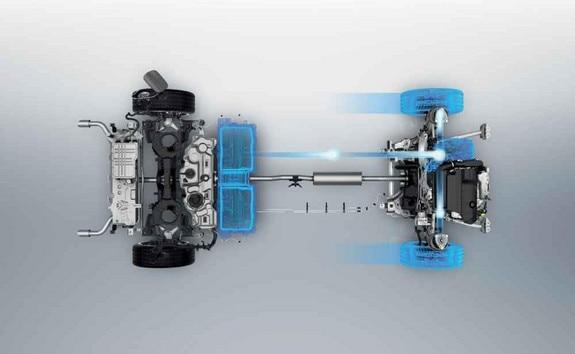 Nuevo break PEUGEOT 508 SW HYBRID, Batería de iones de litio en modo 100 % eléctrico