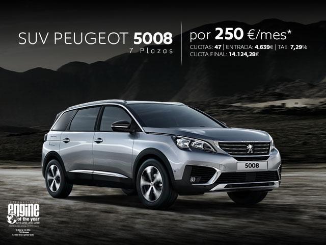 Oferta SUV Peugeot 5008 Marzo