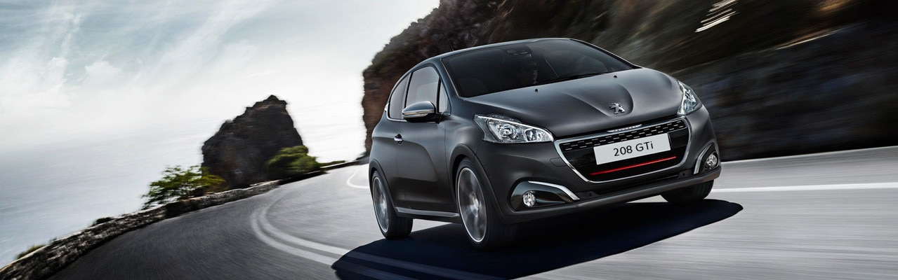 Coches deportivos: Peugeot 208 GTi