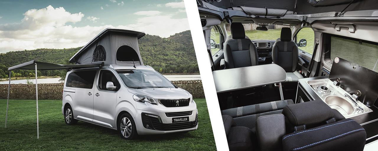 Peugeot Traveler Tinkervan
